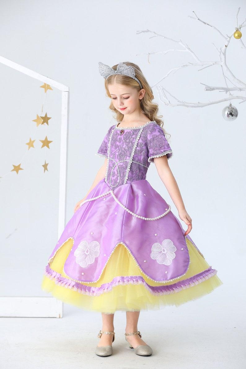 Luxury Sofia dresses  Sofia the first dress for girl Sofia dress for toddler  Sofia the first dress   