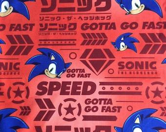 Sonic Gotta Go Fast Etsy