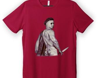 Michael Myers Shirt, Funny Halloween Horror Tee, Halloween Mug