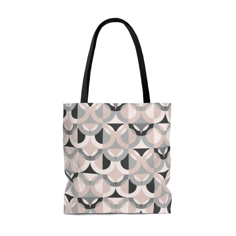 Gift fot her  Gift for mom Stylish Tote Bag Mother/'s Day Gift Pastel and Grey Tote Bag Stylish Tote
