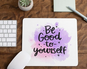 Mousepad Desk Decor Coworker Gift Inspirational Mousepad Office Decor Inspire Mousepad Motivational Mousepad Punch Today In The Face