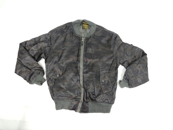 Military Camouflage Function Clothing Army Bomber