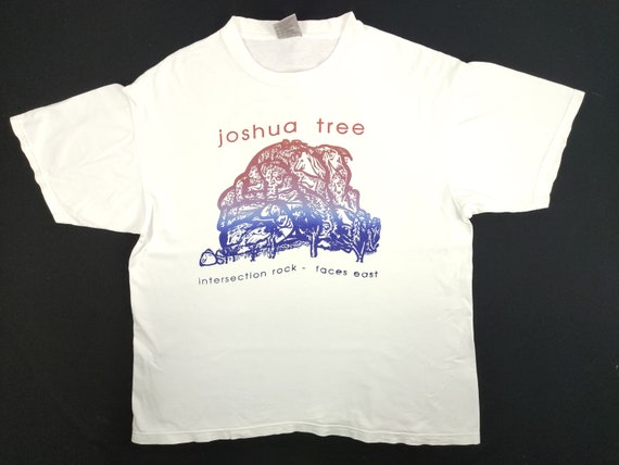 Vintage 90s Oneita Joshua Tree Intersection Rock F