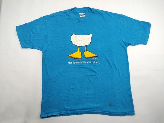 Hanes Blue Duck T Shirt
