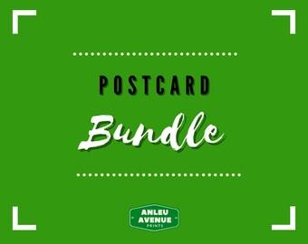 "BUNDLE PACK - Postcards   Blank 4"" x 6"" Postcards"