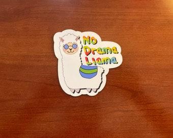 No Drama Llama Magnet | High Quality Magnet |