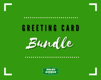 BUNDLE PACK - Greeting Cards | Blank A2 Size Greeting Cards