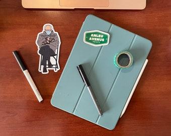 Cold Bernie Sanders Mitten Magnet | High Quality Magnet | 2021 Inauguration Meme Inspired Design