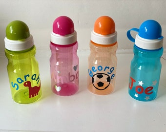 Personalised Infuser Water Bottle with Spout