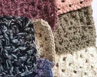 Coloured Granny Squares