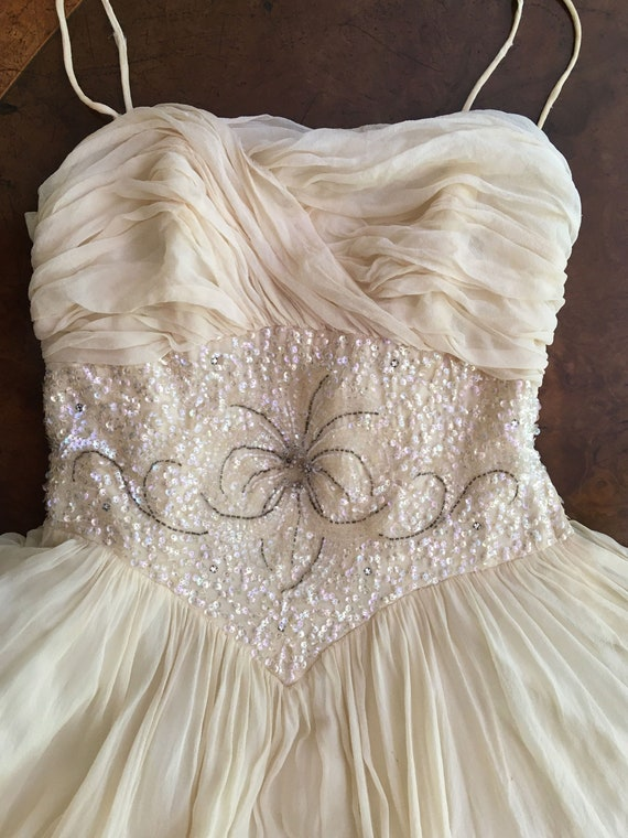 1950's Will Steinman Original Party Prom Dress in