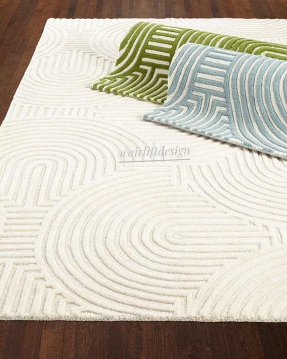 Wool Modern Designer tuffted Handmade Soho AL-RU012 thick pile wool area rugs carpet with free shipping USA UK sale