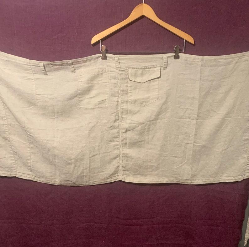 90\u2019s Vintage KirstenseN Du Nord Taupe Wrap-around skirt size 3EU