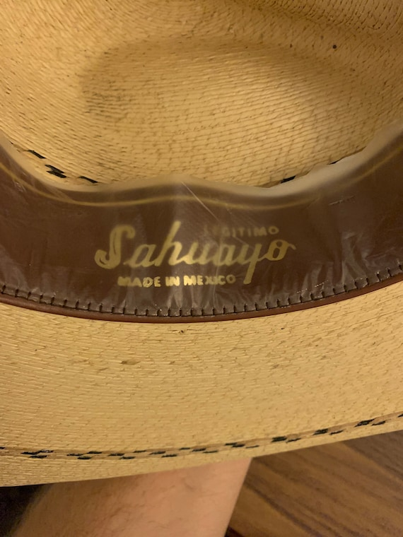 Rockmount and Sahuayo Cowboy Hat 6 7/8 - image 8