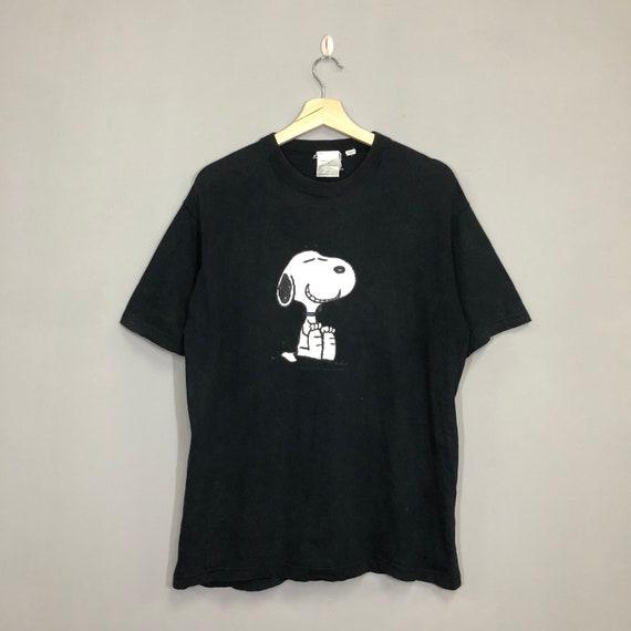 Vintage 90's Snoopy T Shirt Medium Snoopy Joe Cool