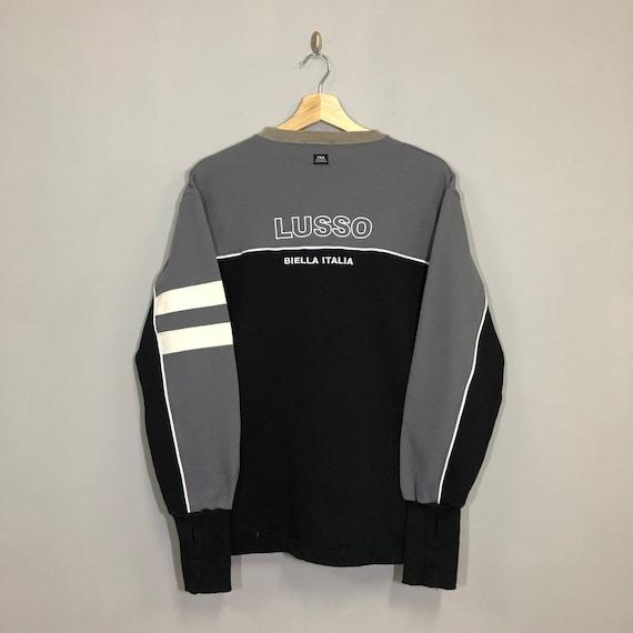 Vintage 90s Fila Sweatshirt Medium Fila Lusso Big
