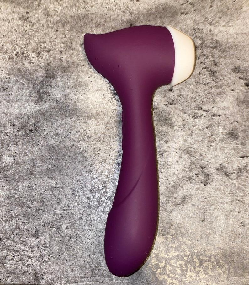 Orlena Clitoral Sucking Vibrator G Spot Clit Dildo -3074