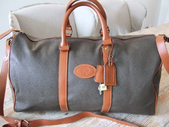 Mulberry Bandolier Travel Bag