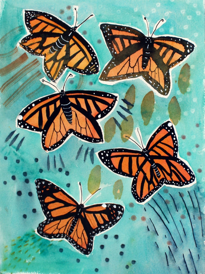 Monarchs Ready to hang image 0