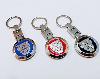 Jaguar Keychain - High Quality Metal - 3 versions