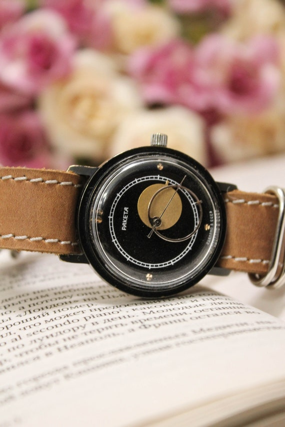 "Soviet watch,RAKETA ""COPERNIC"",""Copernic"" watch, v"