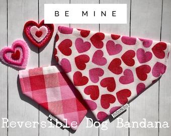 XXS-XXL Pet Valentine/'s STUD Bandana