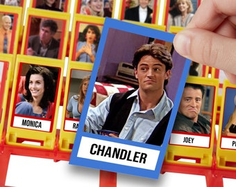 FRIENDS Guess Who Board Game (Printable Template)