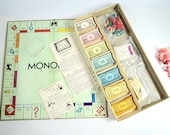 1935 Board Game - Monopoly - Parker Brothers -Real Estate Trading game