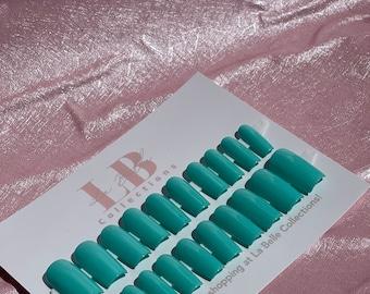 Mint Press on nails