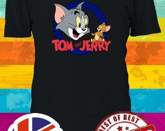 Tom Und Jerry Verschmust Kinder T-Shirt