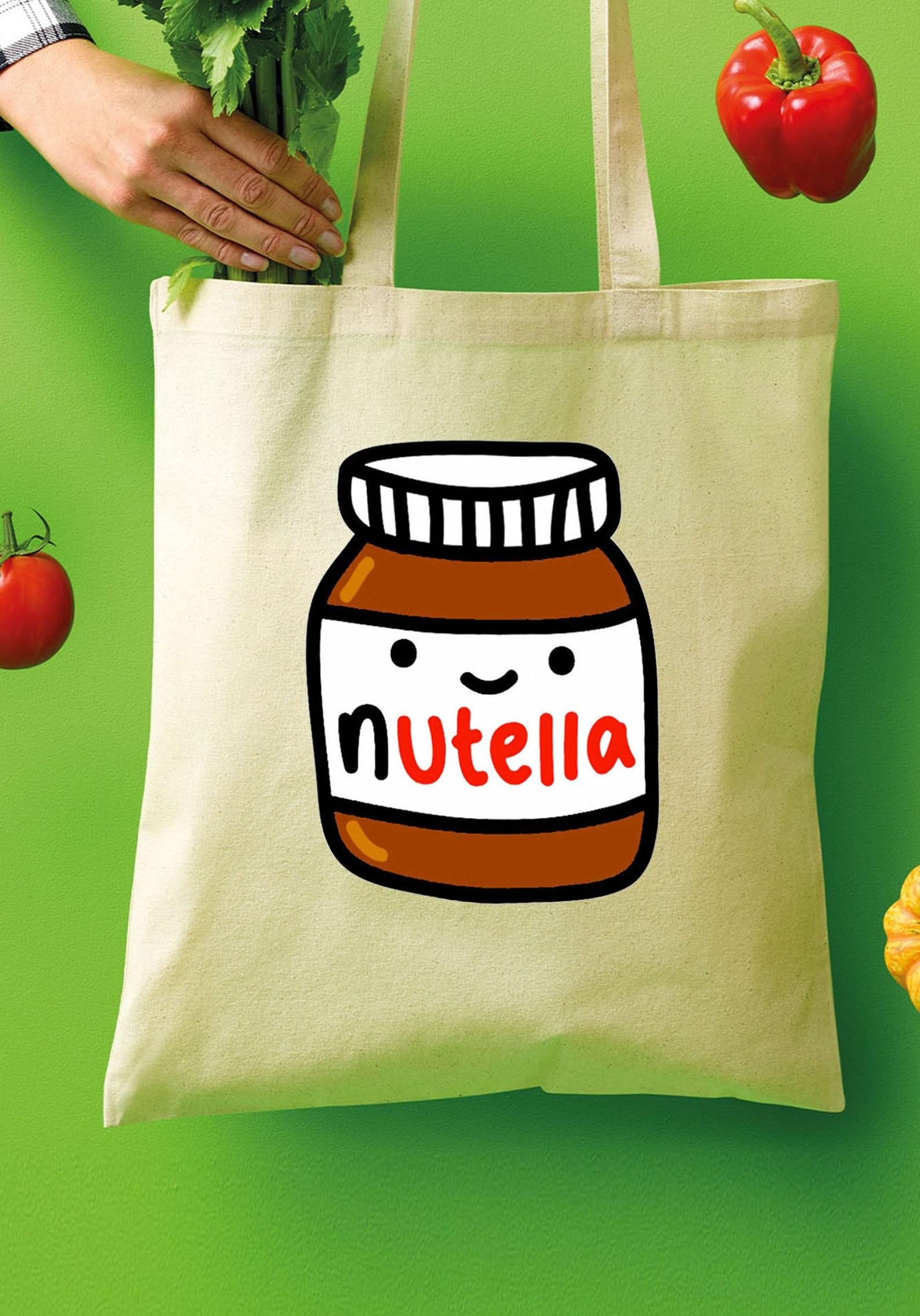 Nutella Chocolate Hazelnut Spread Tote Shopper Bags