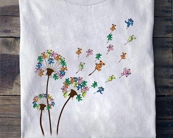 Dandelion Grateful Dead Dancing Bears Shirt, Dancing Bears Shirt, Grateful Dead Shirt, Gift for Grateful Dead Fans, Music Fans Shirt 0207m15
