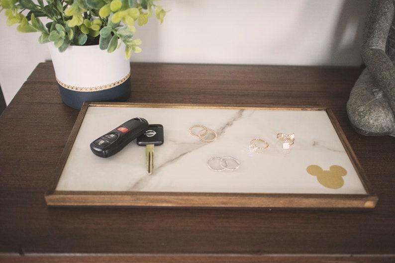 Mouse House Decor Entry Way Decor Bedroom Decor Rings Tray Keys Tray Bathroom Decor