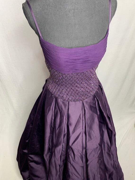 BeAutiful purple ball gown