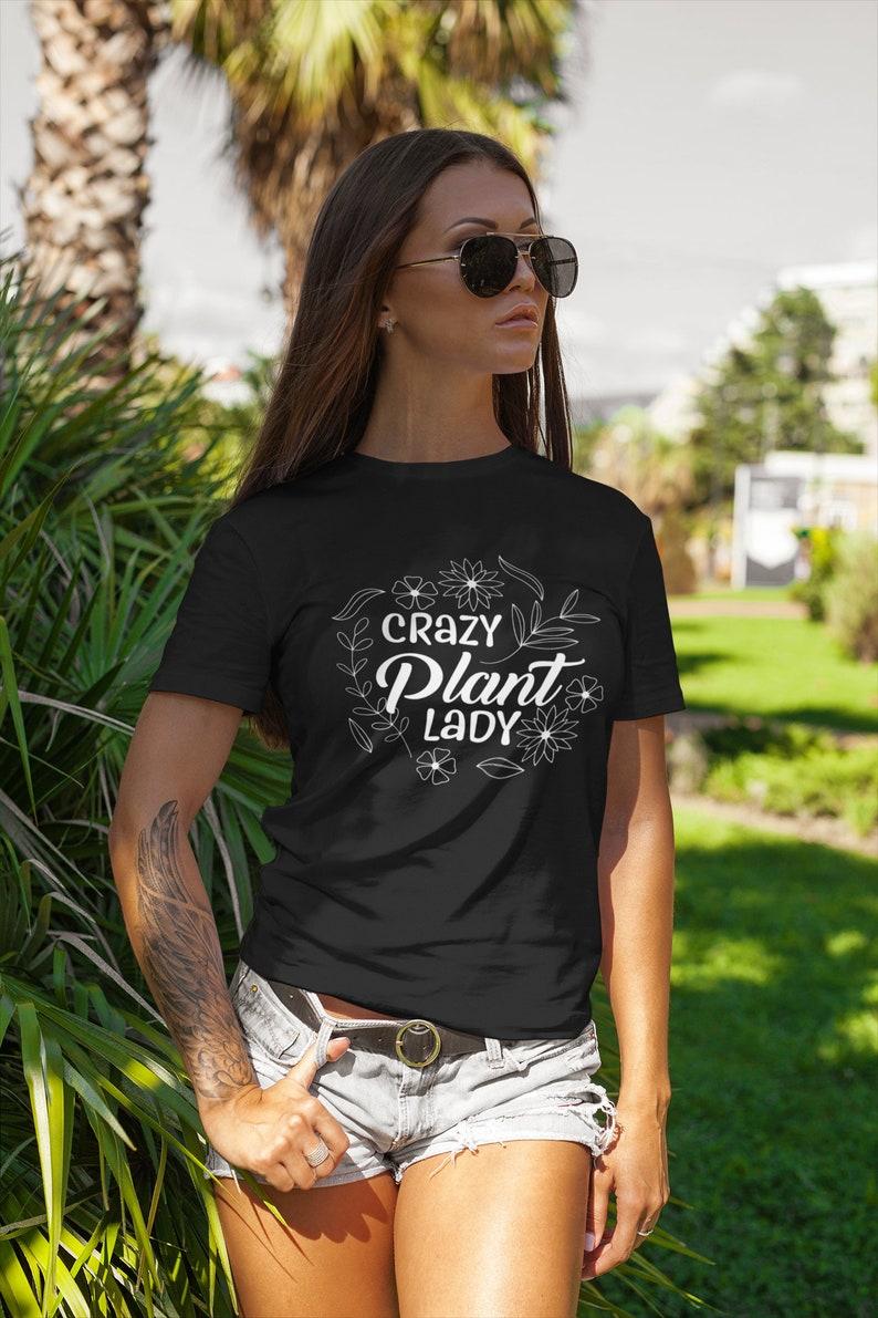 Crazy Plant Lady Premium Shirt