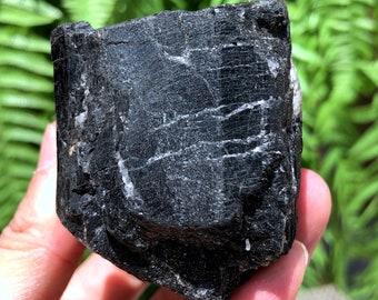 Top Quality Raw Large Natural Raw Black Tourmaline StoneRough Black Tourmaline QuartzTourmaline Mineral specimenBlack Tourmaline Chunk