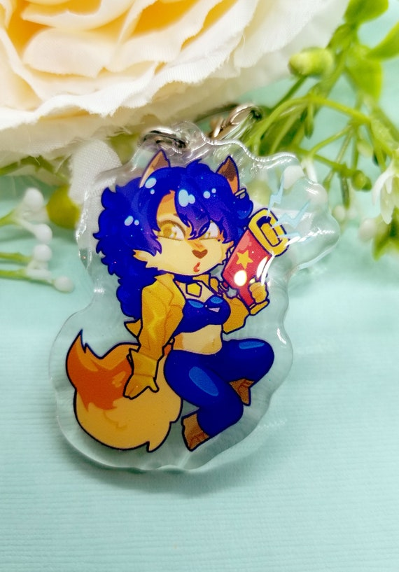 Steven Universe Overwatch Fire Emblem Three Houses Sly Cooper Mix and Match Acrylic Charms
