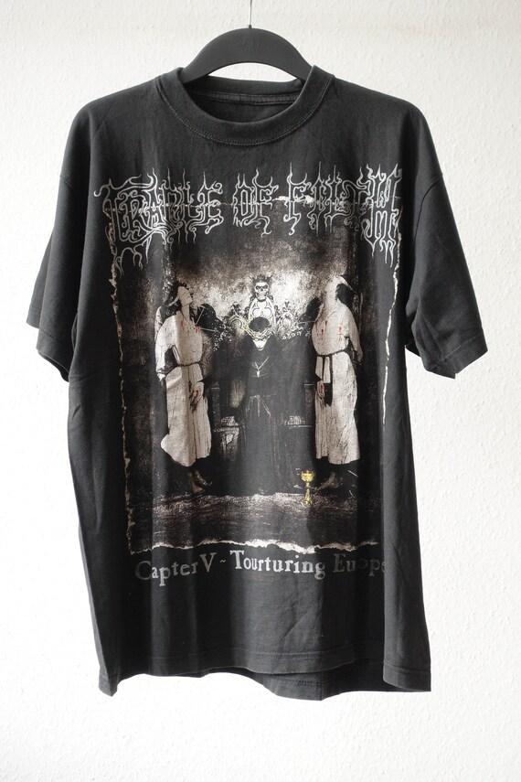 Cradle of Filth - Super Rare Vintage 1998 Torturin