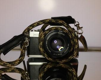 water colour stripe Olympus unisex camera strap Japanese dslr camera strap mans camera strap camera neck strap
