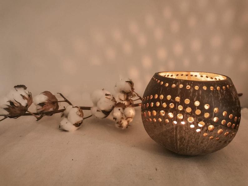 大茶灯烛台装饰