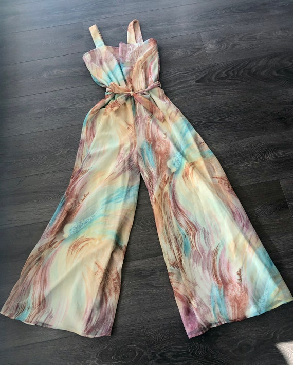 Claire Haddad 70's jumpsuit