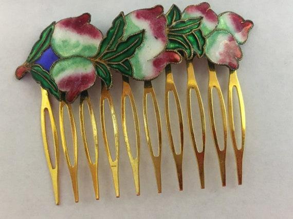 Vintage bronze hairpins