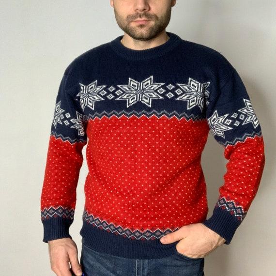 Christmas Sweater |  Vintage Christmas Sweater | W