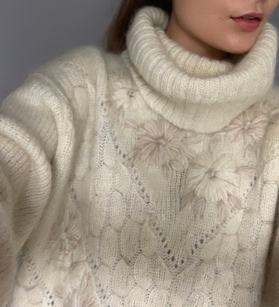 Vintage mohair oversized sweater