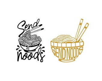 Instant download png png Cut file Send noods funny naughty noodle food bundle svg svg for Cricut and Cameo Silhouette digital file svg