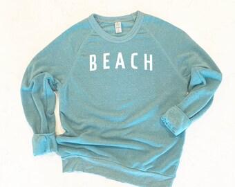 Long Sleeve Ocean Shirt Vacation Shirt Mens Womens Outdoors Shirt Beach Shirt Nature \u00a0shirt Sea T-Shirt Beach Time Shirt