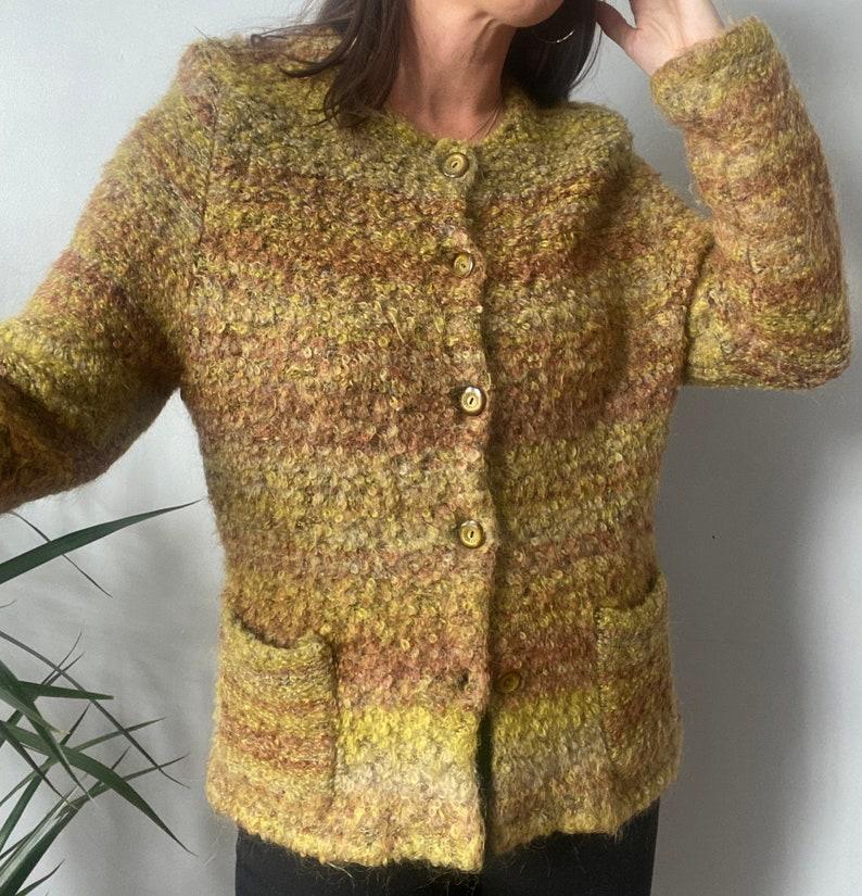 Vintage Merino Wool Cardigan