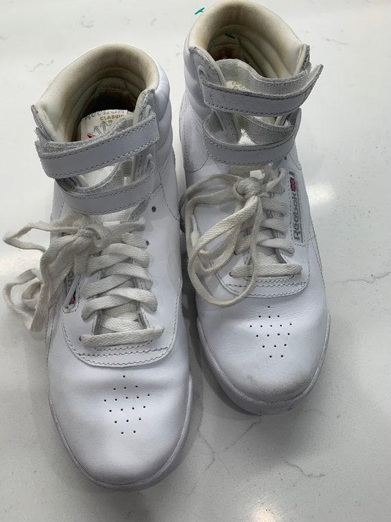 Vintage Reebok Classic Hightop Sneakers - image 6