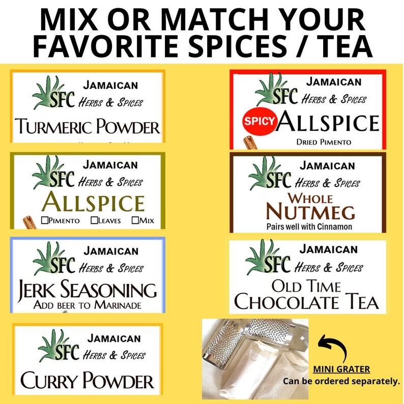 100% Organic BULK Jamaican Allspice/Pimento Mini Grater image 1