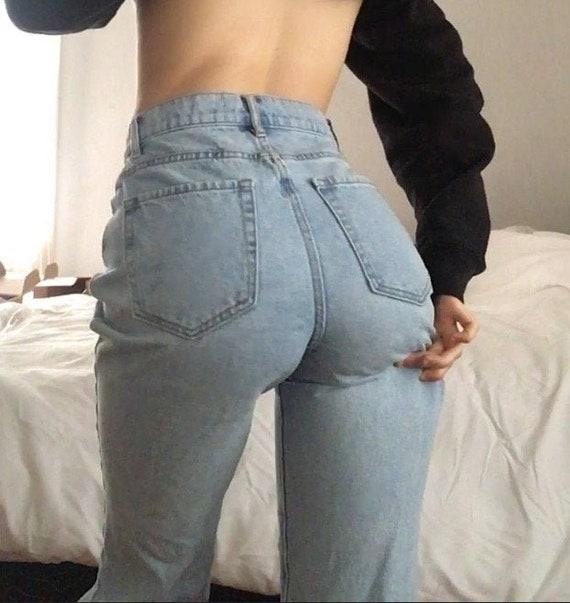 vintage high waisted jeans - image 1